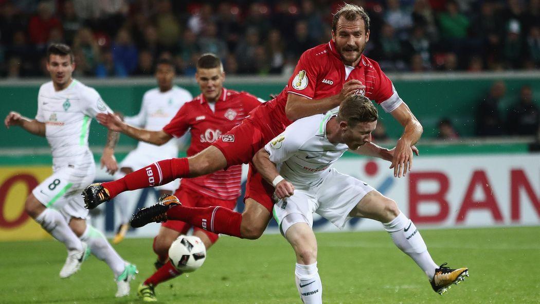 Werder Bremen Gewinnt Bei Den Würzburger Kickers Im Dfb Pokal Dfb