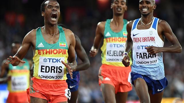 Farah über 5000 m geschlagen - Brite verpasst Triple-Double
