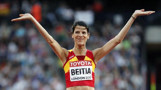 """Mundial Londres 2017, Beitia: """"Triste porque no me ha salido; ahora habrá que pensar qué hacemos"""""""