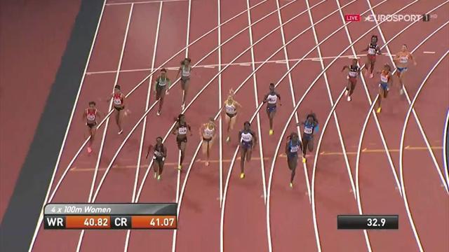 Wechsel verpatzt: Sprint-Mädels rennen an Medaillen vorbei