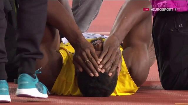 Mundial Londres 2017: Bolt se despide con lesión en la victoria de Gran Bretaña en el 4x100