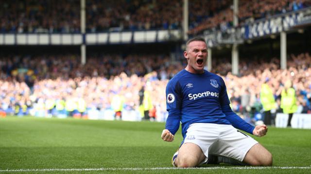 Wayne Rooney revels in goal-scoring return to Everton blue