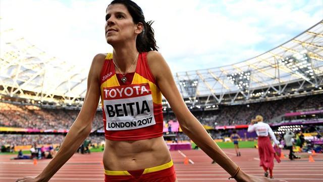 Beitia, duodécima y última en la final de altura