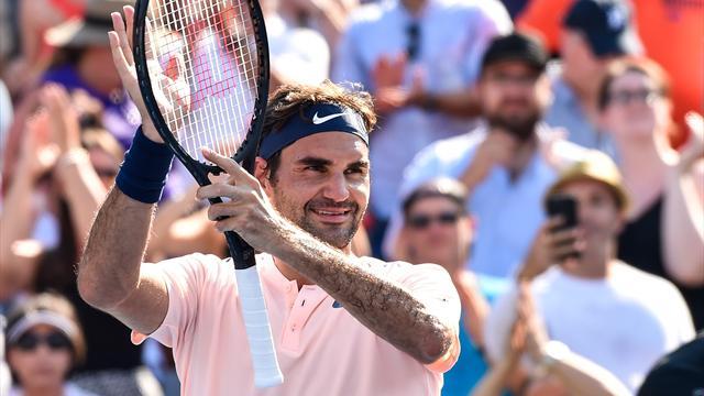 Intouchable, Federer disputera une nouvelle finale