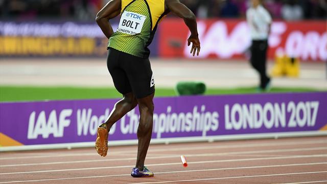 Usain Bolt'tan tatsız veda