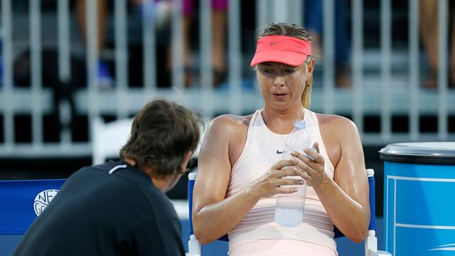 Шарапова снялась с турнира из-за травмы