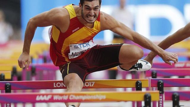 Ureña noveno en el decatlón con récord personal (8.125)