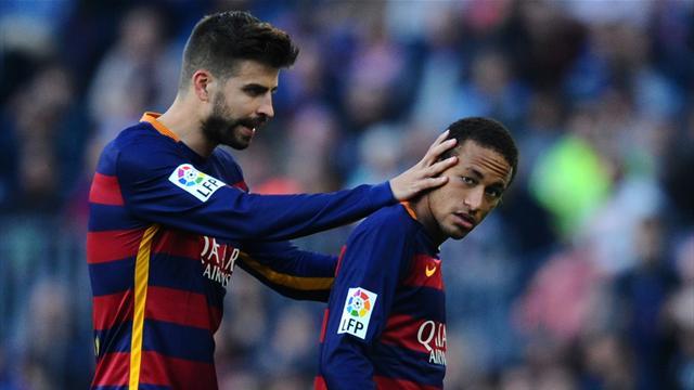 """Piqué : """"Au cours de ses 5 années, Neymar a défendu le Barça comme personne"""""""