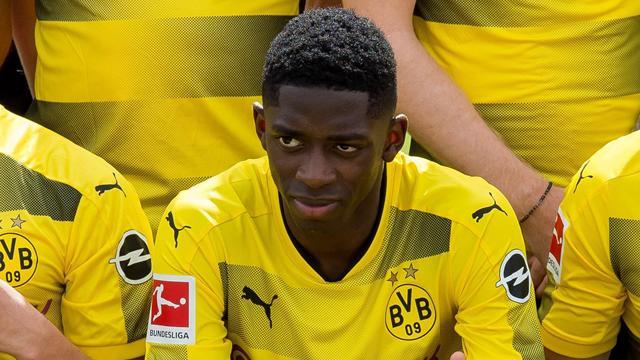 Borussia Dortmund: Dembele resta fuori rosa, si allenerà da solo