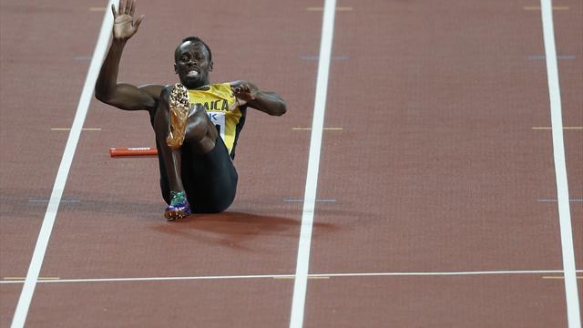 Bolt verletzt im letzten Rennen - Jamaika bei Briten-Sieg nicht im Ziel