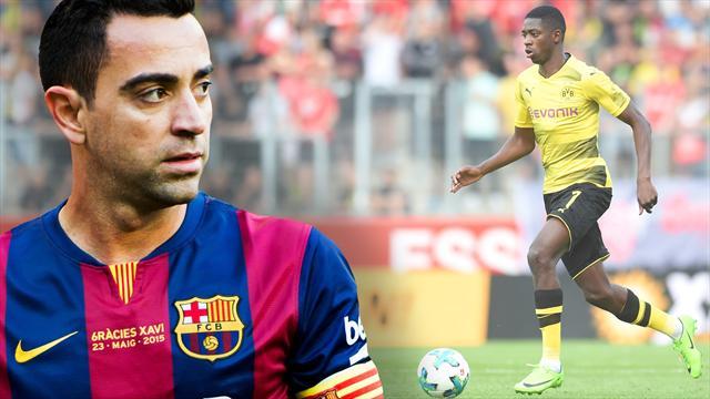 """Barça-Legende Xavi exklusiv über Dembélé: """"Stärke und Schwäche zugleich"""""""