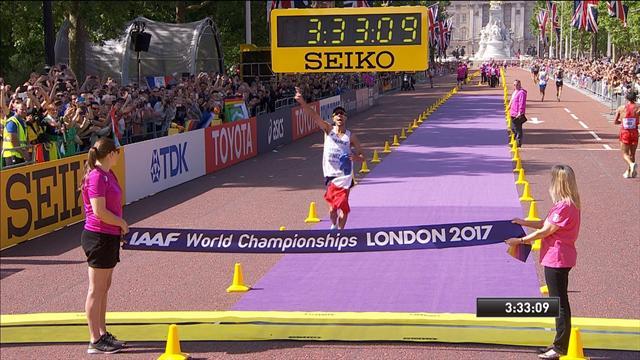 Mundiales Londres 2017: Yohann Diniz vence en los 50 km marcha y hace historia