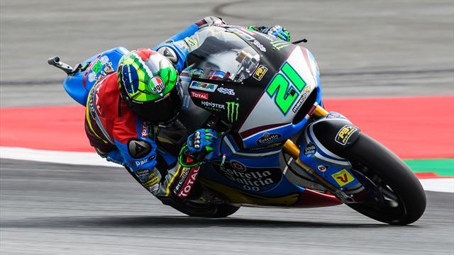 Moto2 : Titillé mais impeccable, Morbidelli n'a pas craqué