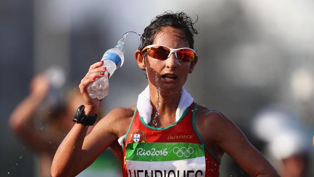 Энрикес победила в ходьбе на 50 километров