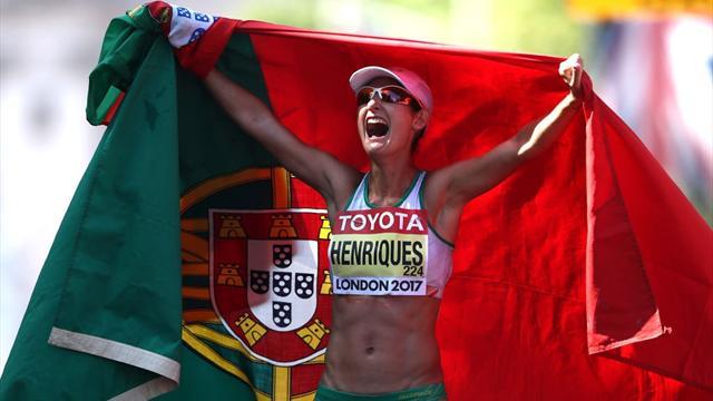 Ines Henriques'ten yeni dünya rekoru