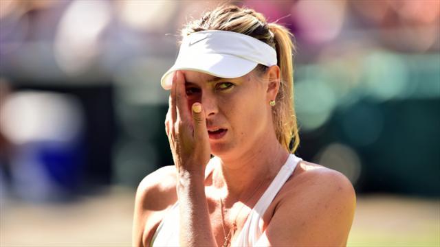 Sharapova costretta al forfait anche a Cincinnati