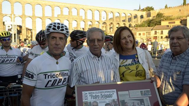 El madrileño Juan Carlos Fernández gana la Marcha Cicloturista Segovia
