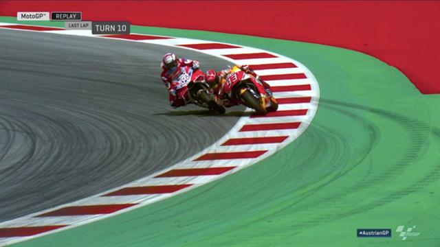 L'ultima curva della sfida mozzafiato tra Dovizioso e Marquez