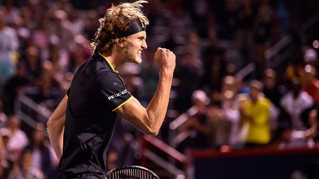 """""""Respekt, keine Angst"""": NextGen-Star Zverev heiß auf Finale gegen Federer"""