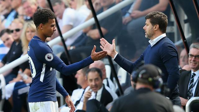 Alli inspires Spurs to opening win after Shelvey's idiotic red
