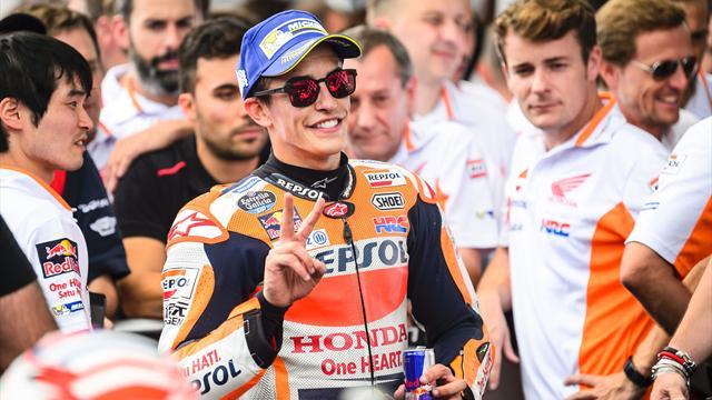 La pole position pour Marc Marquez, Johann Zarco sixième — GP d'Autriche