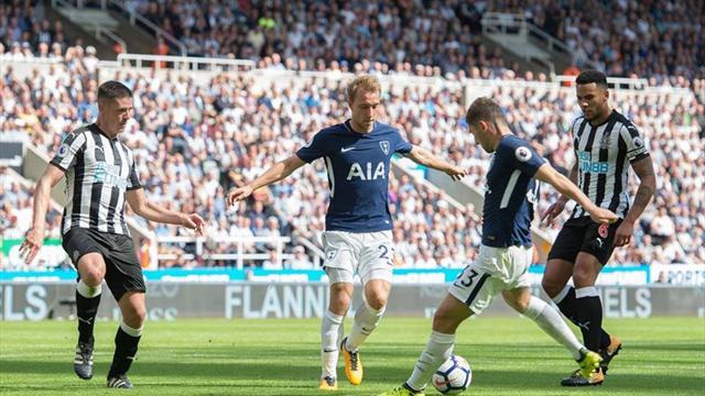 El Tottenham frustra el reestreno en la Premier del Newcastle de Benítez