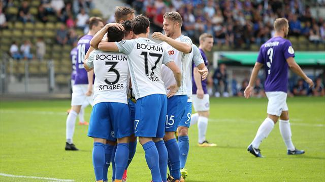 Bochum nach Blitzstart in Runde zwei