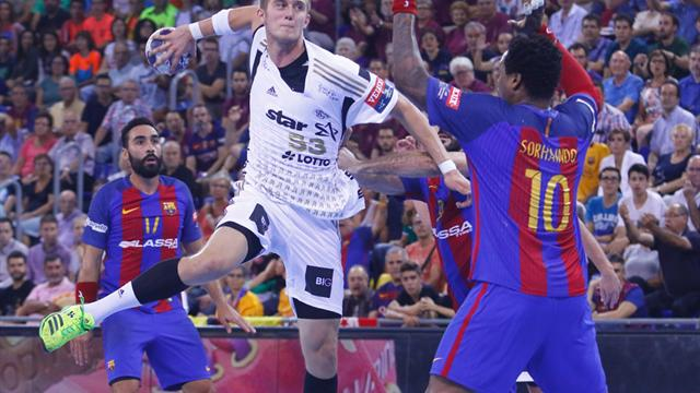 Handball: Kiel gelingt Testspielsieg über Barcelona