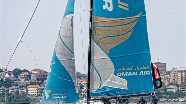 Oman Air gewinnt Extreme Sailing Series in Hamburg