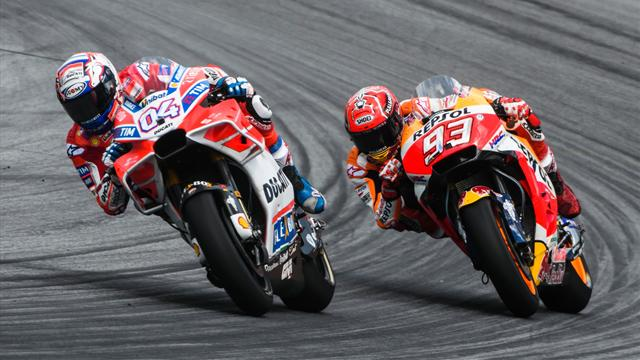 On refait le Grand Prix : Dovizioso héroïque, Marquez fantastique