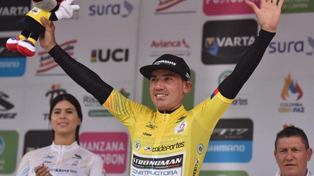 Cala gana la Vuelta a Colombia con más de dos minutos de ventaja sobre Cano