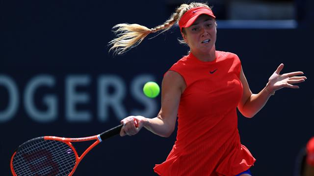 Svitolina thumps Wozniacki to clinch Toronto title