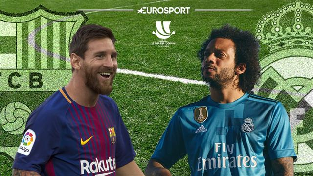 En directo, Barcelona-Real Madrid: Sigue aquí la lucha por la Supercopa de España