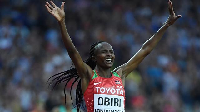 Leichtathletik-WM: Kenianerin Obiri holt 5000-m-Gold