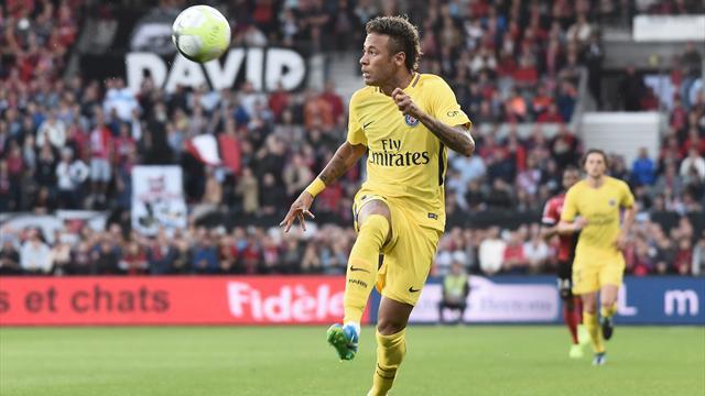 Dans les chiffres aussi, Neymar a réussi son entrée