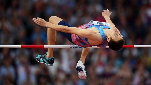 Лысенко завоевал серебро в прыжках в высоту