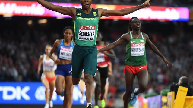 800 m: Semenya zum dritten Mal Weltmeisterin