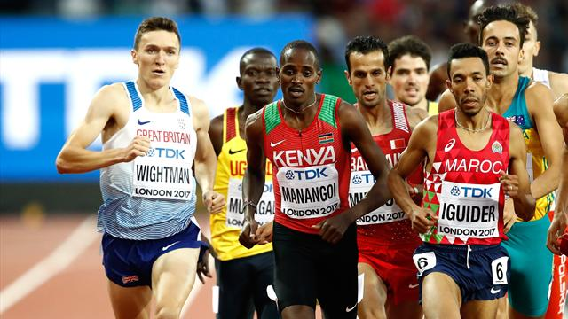 Manangoi seals 1500m title for Kenya as Kiprop fades