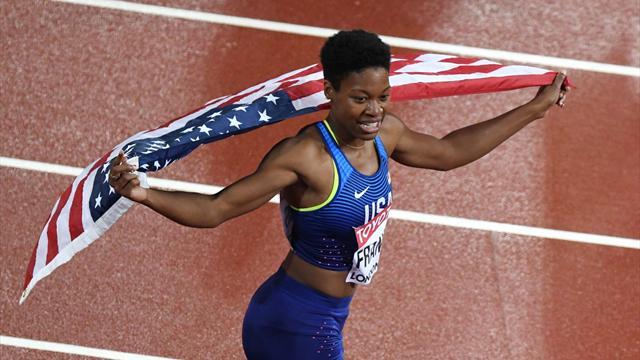 Американки выиграли эстафету 4х400 метров