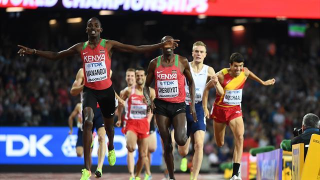 Kenianer Managoi holt 1500-m-Gold - Kiprop verpasst vierten Titel klar