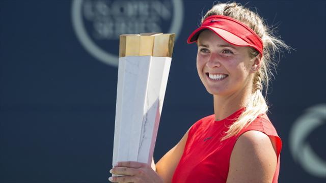 Elina Svitolina sees off Caroline Wozniacki to lift Toronto title