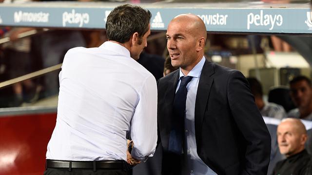 """Zidane juge """"impensable"""" une Liga sans le Barça"""