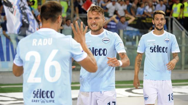 La Lazio a pris une belle revanche sur la Juve