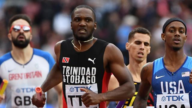 Бегуны Тринидада и Тобаго вырвали у США последнее золото ЧМ-2017 в мужской эстафете 4х400 метров