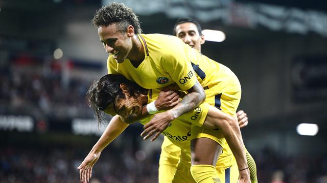 Neymar scores on debut as PSG beat Guingamp 3-0