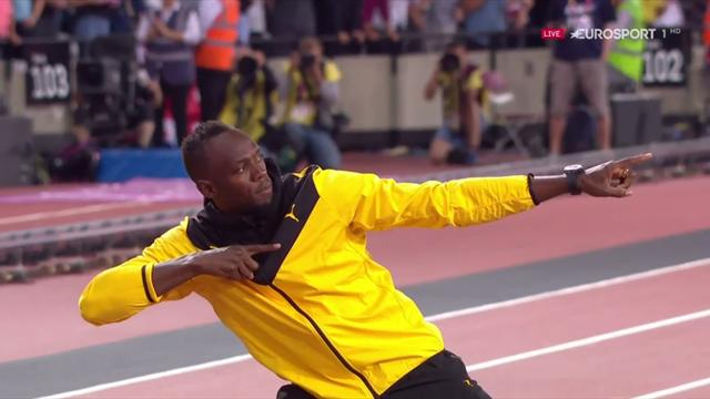 Mundial Londres 2017: La última vuelta de Usain Bolt en Londres