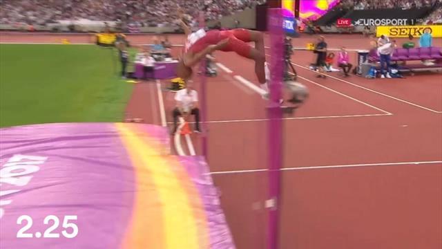 Barshim fenomenale: 5 salti perfetti e oro nel salto in alto