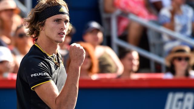 Zverev met un terme à la folle série de Federer