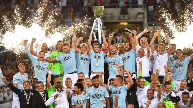 Lazio beat Juventus 3-2 in dramatic Italian Super Cup