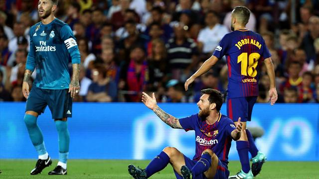 En directo, Barcelona-Real Madrid: Messi empata con un polémico penalti (1-1)